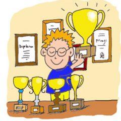 Zlato in srebrna priznanja na tekmovanju Vesele šole
