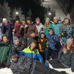 Učenci 7. razreda na Kopah